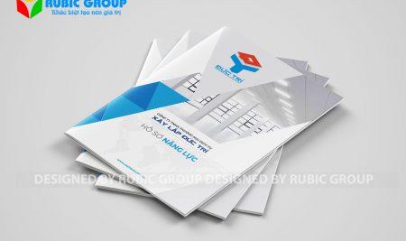 Thiết kế hồ sơ năng lực giá rẻ tại Bình Phước