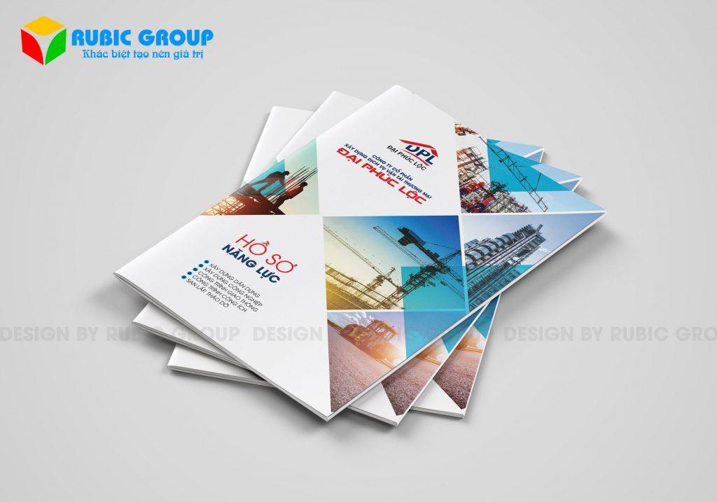 thiết kế profile công ty xây dựng 2