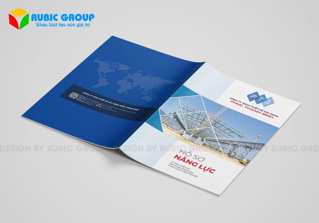 thiết kế profile công ty xây dựng 6