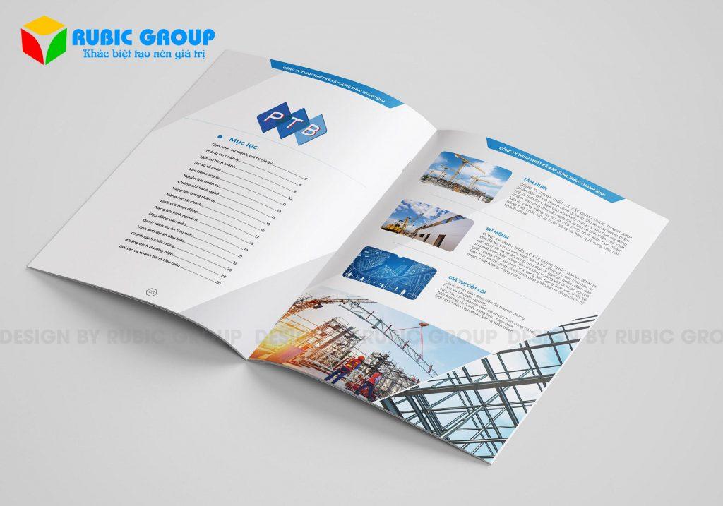 thiết kế profile công ty xây dựng 8