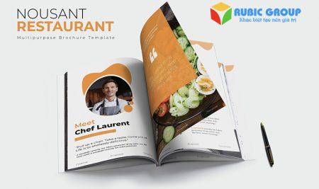 Thiết kế Profile nhà hàng chuyên nghiệp, ấn tượng