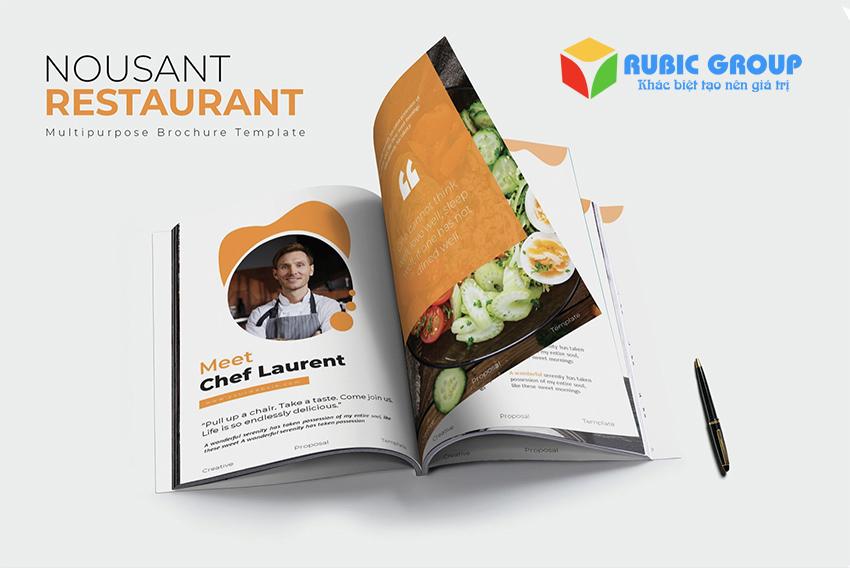 thiết kế profile nhà hàng 3