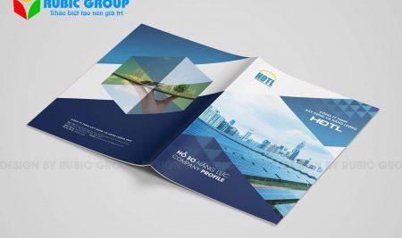 Thiết kế hồ sơ năng lực công ty TNHH nhanh chóng chuyên nghiệp cao
