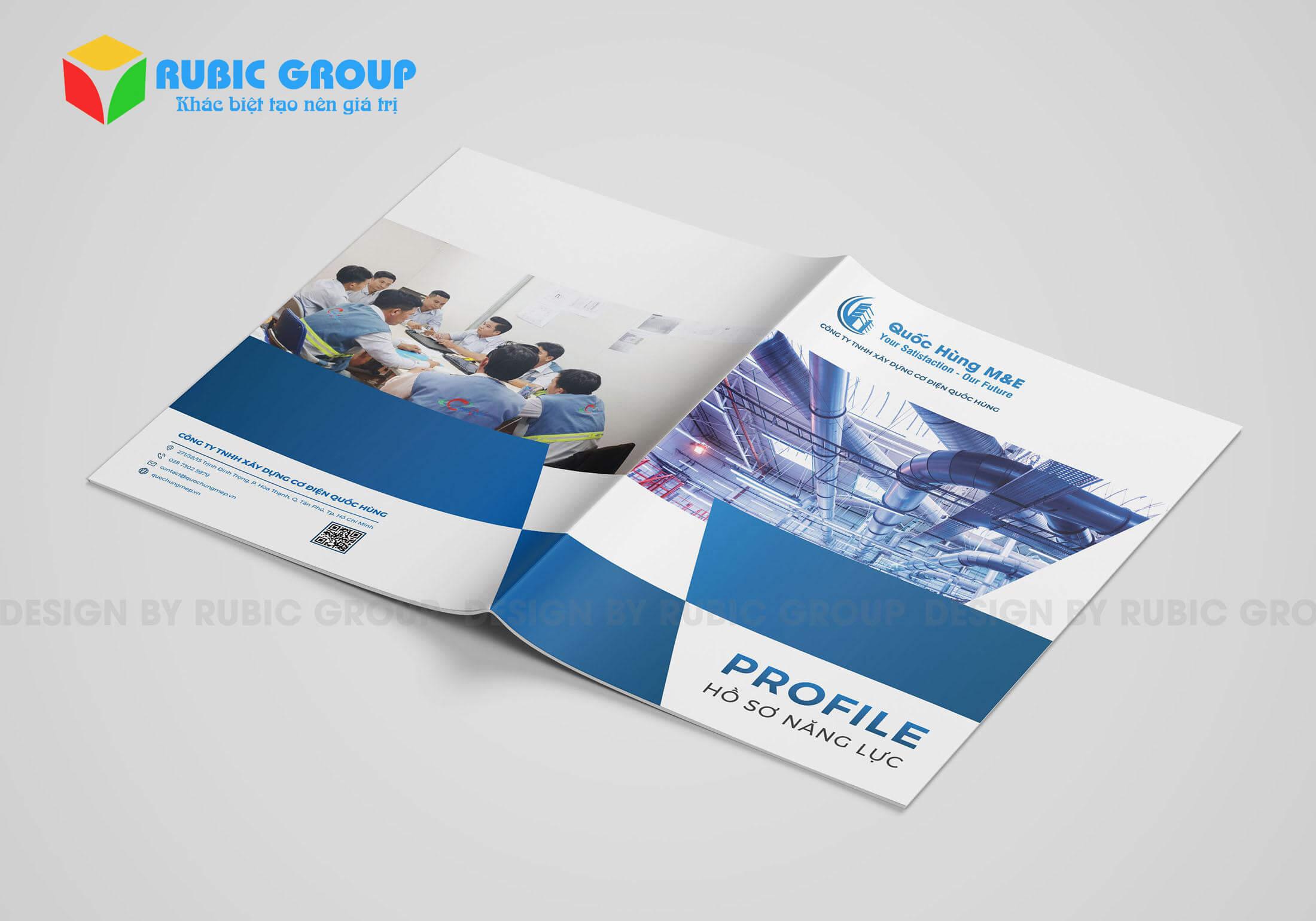 500+ mẫu hồ sơ năng lực công ty đẹp 2020 - RuBic Group