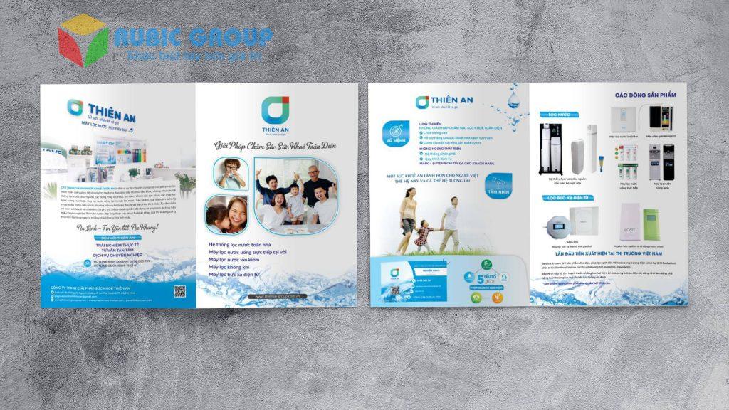 thiết kế catalog máy lọc nước