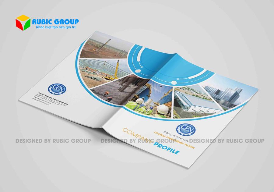 thiết kế hồ sơ năng lực cơ khí xây dựng 3