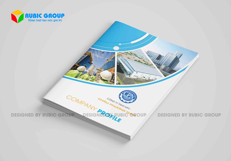thiết kế hồ sơ năng lực cơ khí xây dựng 4