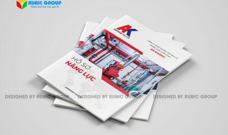 Thiết kế hồ sơ năng lực công ty pccc đảm bảo sáng tạo và trúng thầu