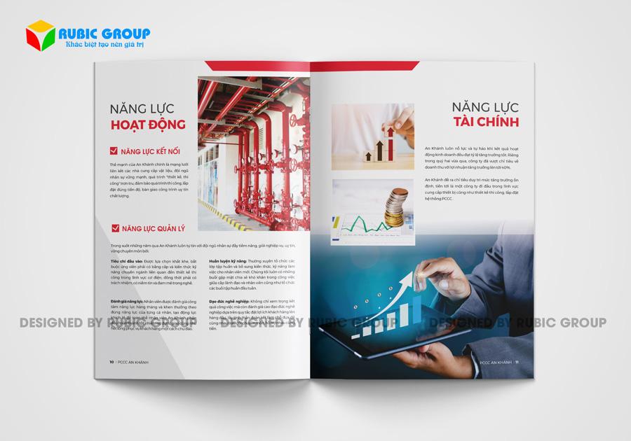 thiết kế hồ sơ năng lực công ty pccc 4