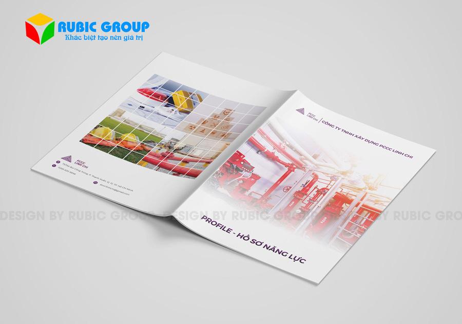 thiết kế hồ sơ năng lực công ty pccc giá rẻ 1