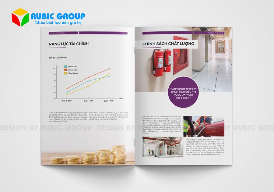 thiết kế hồ sơ năng lực công ty pccc giá rẻ 2