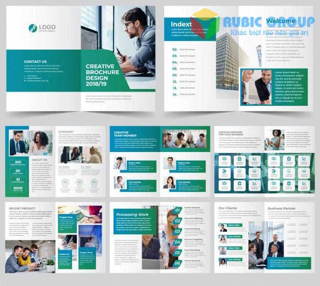 thiết kế hồ sơ năng lực công ty phần mềm 1