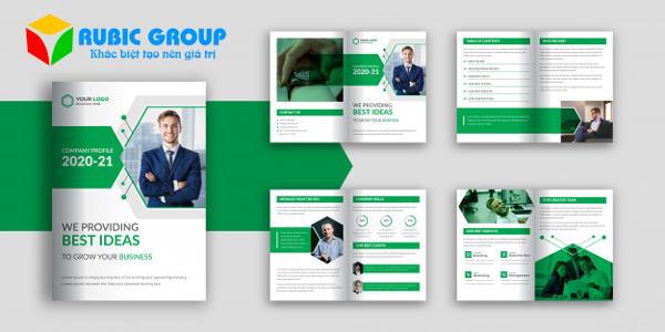 thiết kế hồ sơ năng lực công ty quảng cáo