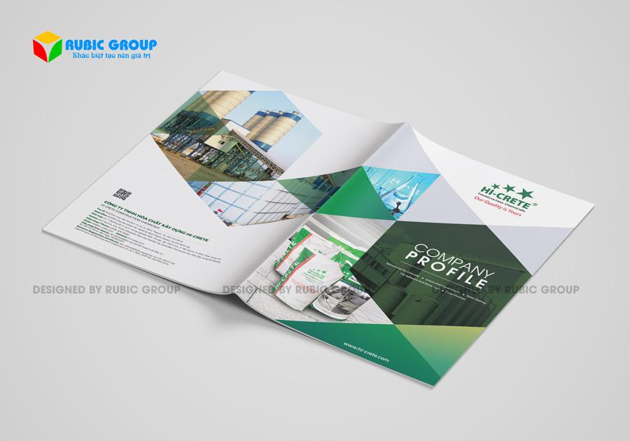 thiết kế hồ sơ năng lực công ty sản xuất 3