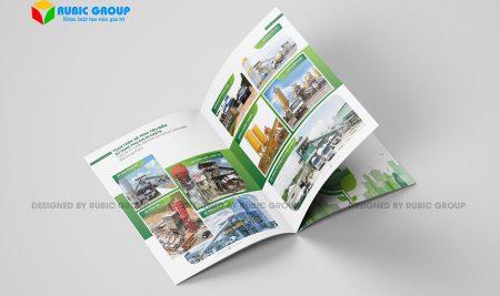 Các thông tin cần biết khi thiết kế hồ sơ năng lực công ty sản xuất