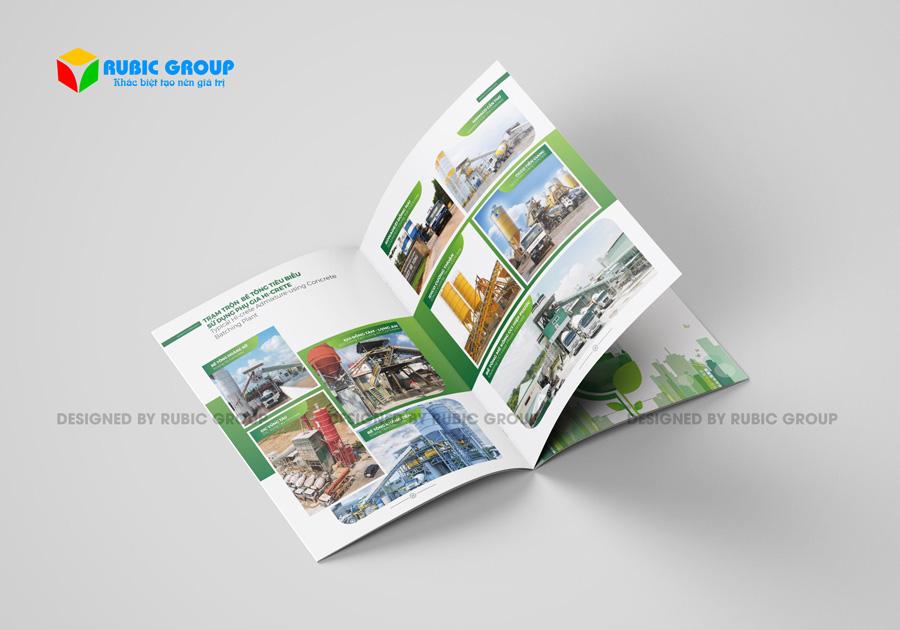 thiết kế hồ sơ năng lực công ty sản xuất 5
