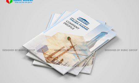 Chi tiết thiết kế cấu trúc hồ sơ năng lực công ty