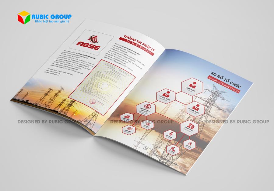 thiết kế hồ sơ năng lực công ty điện 5