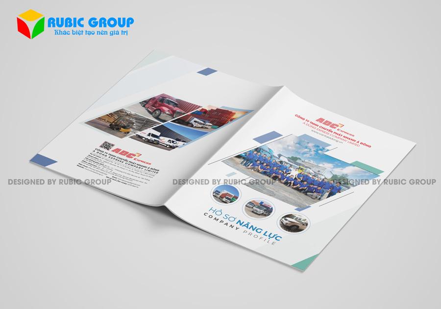thiết kế hồ sơ năng lực online 2