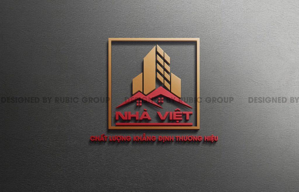thiết kế logo công ty xây dựng 3