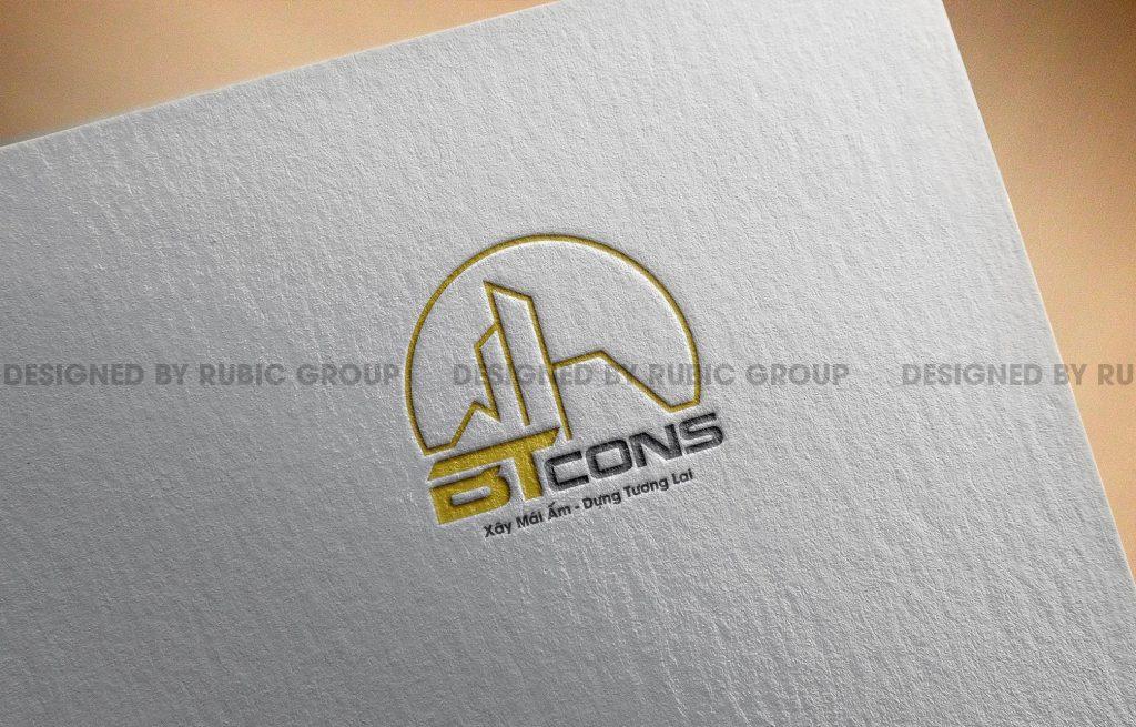 thiết kế logo công ty xây dựng 7