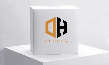Logo DH Rubber