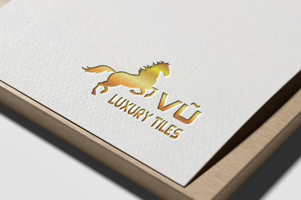 logo vũ luxury title 2