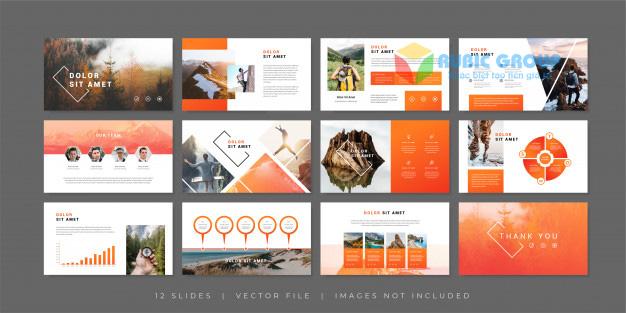 thiết kế báo cáo thường niên 3