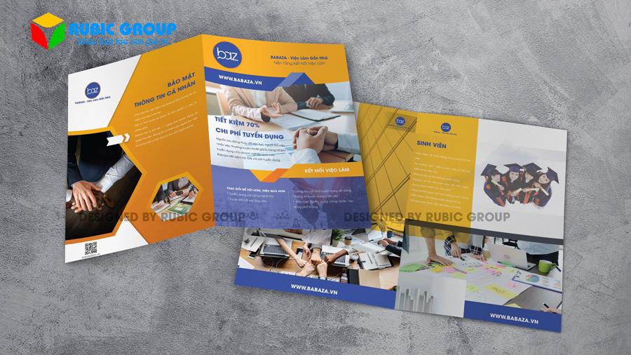 thiết kế brochure chuyên nghiệp 1