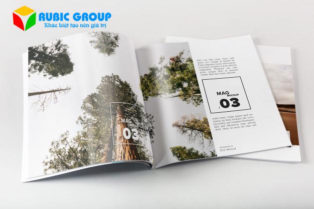 thiết kế magazine 1