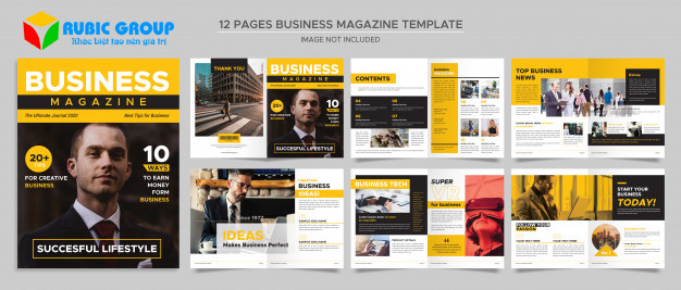 thiết kế magazine 3
