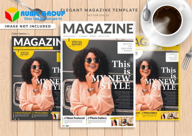 thiết kế magazine 4