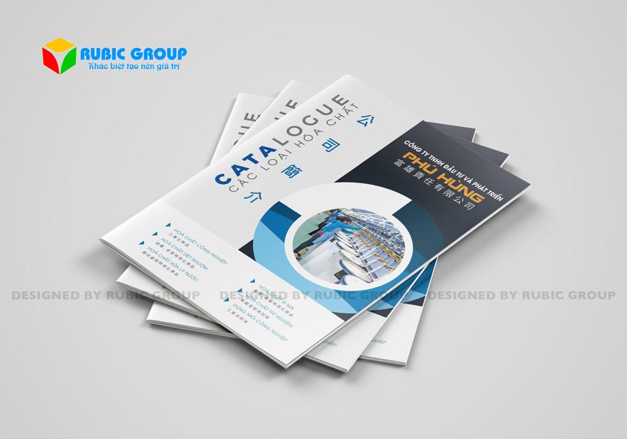 bảng giá thiết kế catalogue 4