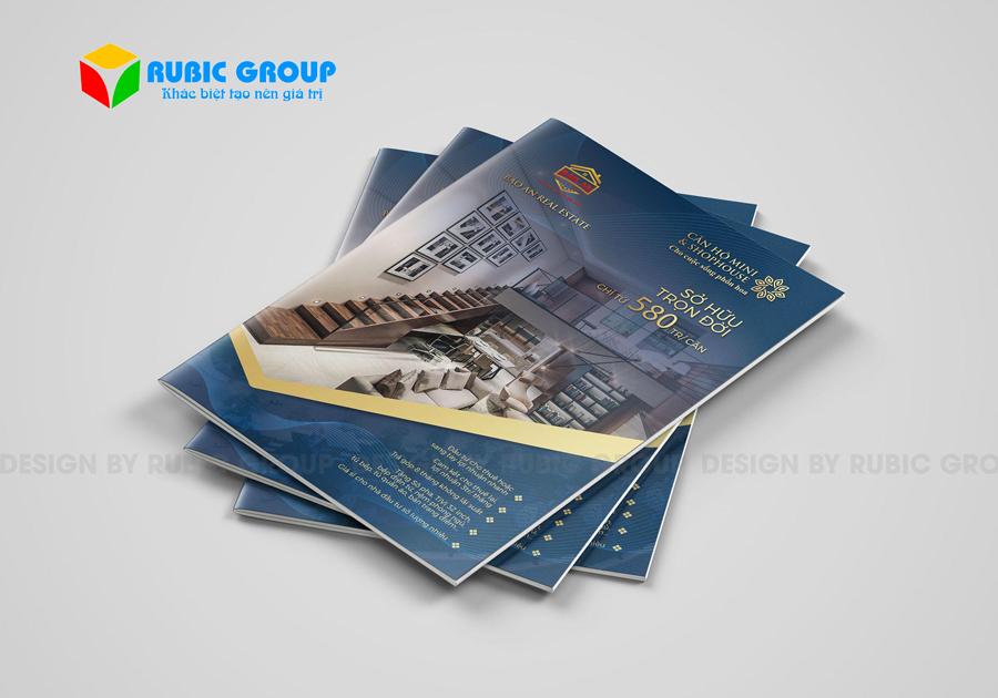 thiết kế brochure bất động sản 3