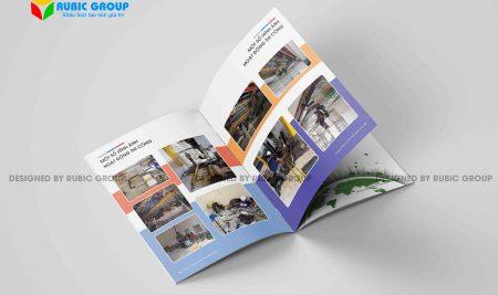 Thiết kế hồ sơ năng lực công ty gia công cơ khí ấn tượng
