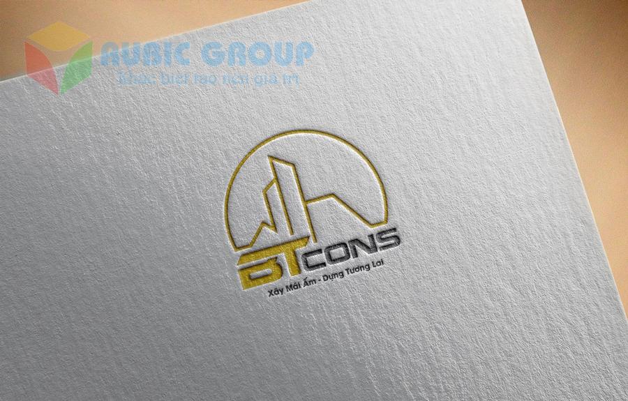 thiết kế logo vật liệu xây dựng 1