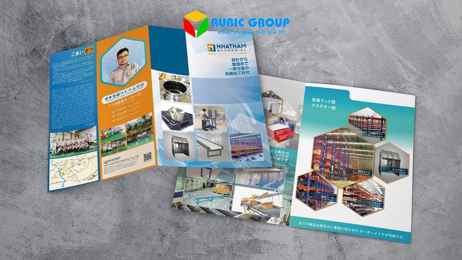 thiết kế brochure sản phẩm 1