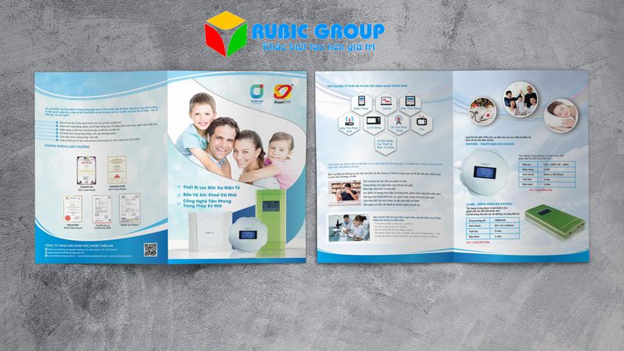 thiết kế brochure sản phẩm 5