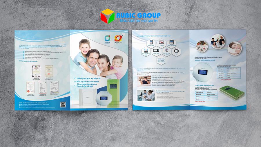 báo giá thiết kế brochure 1