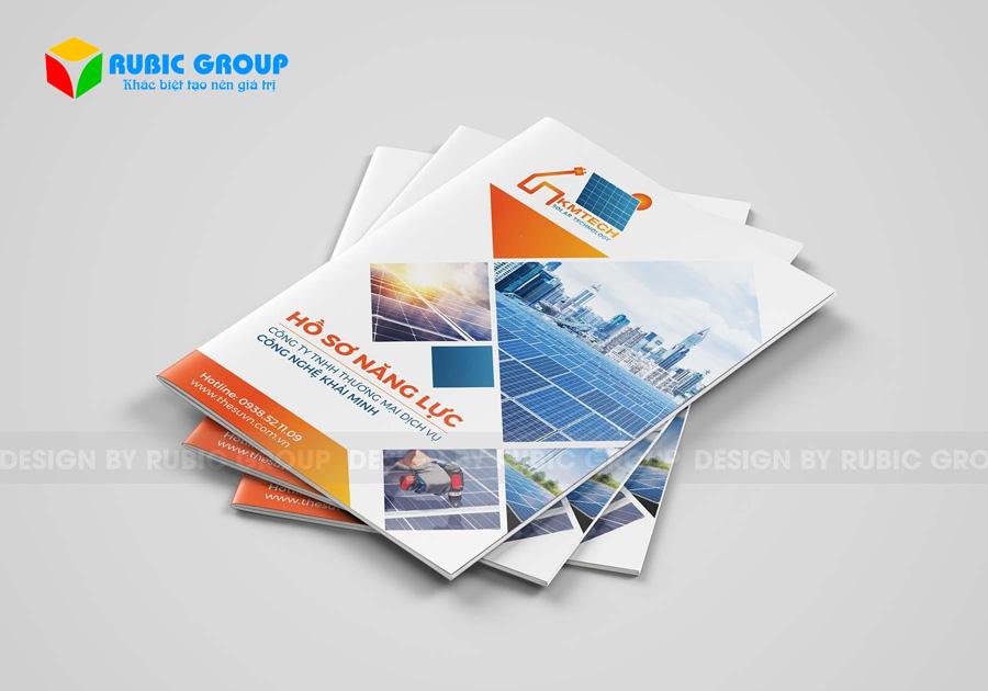 dịch vụ thiết kế profile công ty 1