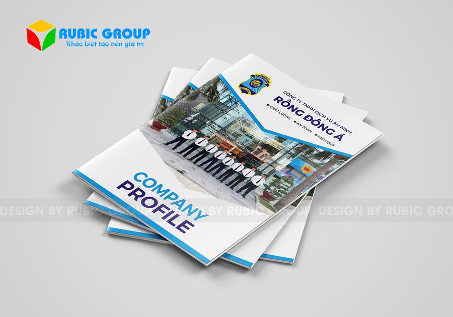 dịch vụ thiết kế profile công ty 2