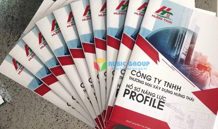 In profile công ty- Tăng nhận diện thương hiệu và doanh số bán hàng