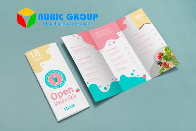 thiết kế brochure gấp 3 3