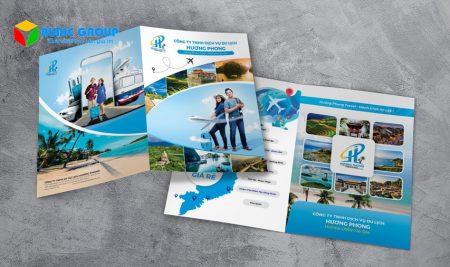 Brochure công ty hỗ trợ thúc đẩy thương hiệu công ty đến gần hơn với người tiêu dùng