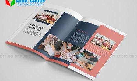 Thiết kế Brochure quảng cáo ấn tượng