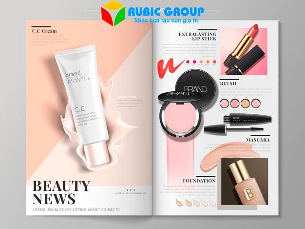 thiết kế brochure mỹ phẩm 1