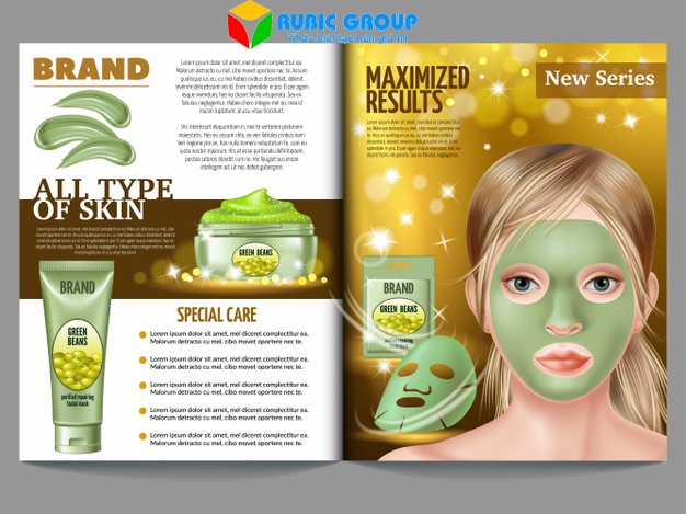 thiết kế brochure mỹ phẩm 3