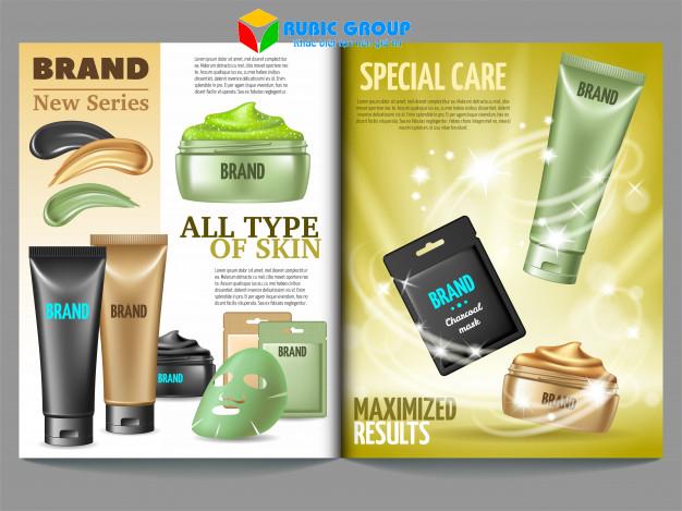 thiết kế brochure mỹ phẩm 4