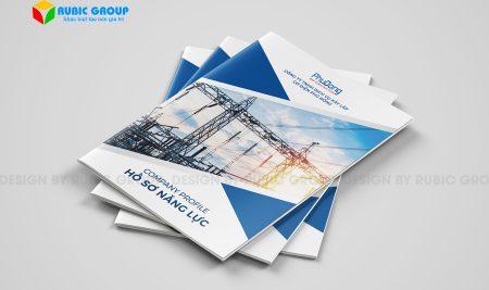 Dịch vụ thiết kế hồ sơ năng lực cơ điện lạnh uy tín, chuyên nghiệp
