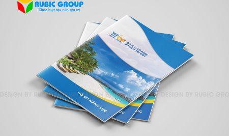Thiết kế hồ sơ năng lực công ty du lịch đẳng cấp, nâng tầm vị thế